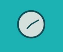 Clock graphical icon